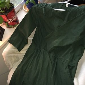 Green dress by COS